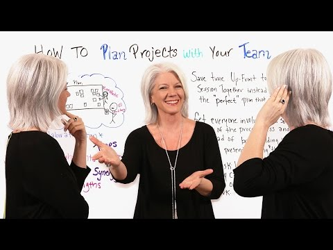 How to Plan Projects with Your Team - Project Management Training