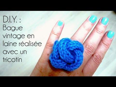 Tricotin comment l 39 utiliser diy tricot doovi - Comment terminer un tricotin ...