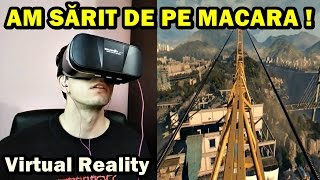 M-AM URCAT PE O MACARA URIAȘĂ ! Virtual Reality React - Dying Light