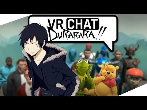 Adventures in VRChat - Izaya Orihara
