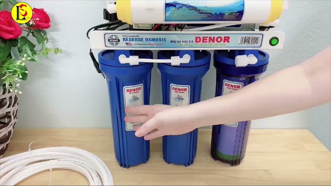 Máy lọc nước Denor - YouTube