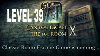 Can You Escape The 100 room X level 39 Walkthrough