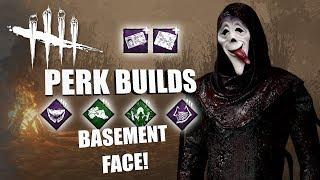 BASEMENT FACE! | Dead By Daylight GHOSTFACE PERK BUILDS