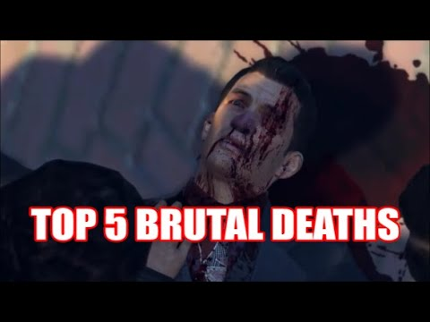 TOP 5 BRUTAL DEATH SCENES IN THE MAFIA TRILOGY |