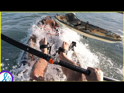 BETTER than Hobie Outback? Pelican Catch 130 HyDryve Surf Test