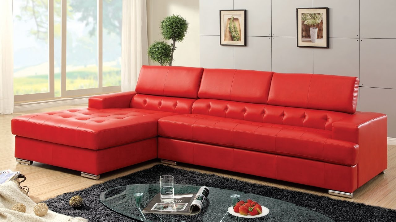 Captivating Red Sectional Sofas Design Ideas Part 20