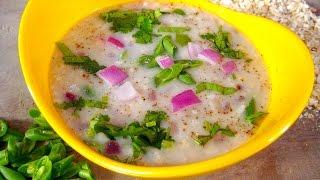 Oats Bean Soup Recipe in Hindi