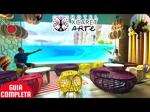 😱 Hotel Xcaret ARTE 2021 ✅ Costos, Tips, VALE LA PENA? 🆘 GUÍA COMPLETA ► CANCUN ALL FUN INCLUSIVE