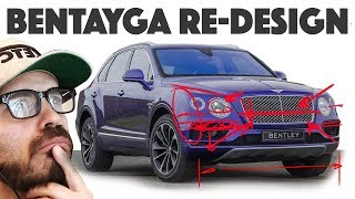 Bentley Bentayga Re-design - Can we turn it into a decent looking SUV??