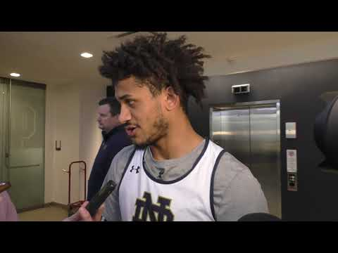 Prentiss Hubb On Notre Dame's Assist-To-Turnover Ratio