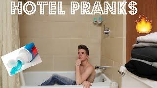 HOTEL PRANKS | Bruhitszach