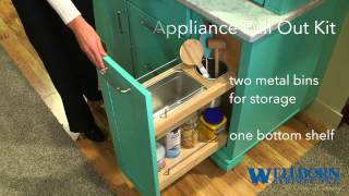 Storage Solutions - Appliance Pull-out Kit