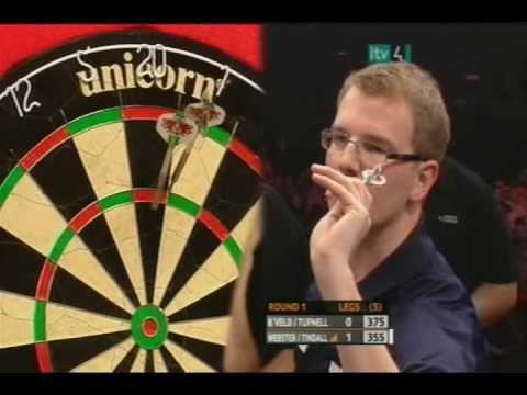 Pro Celebrity Darts 2008 Taylor/Ruddock vs. Dobromyslova ...
