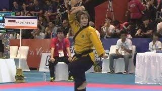 Video Ina Febriana Sari Female under 49 INDONESIA Semi Final World Poomsae Championships download MP3, 3GP, MP4, WEBM, AVI, FLV Juli 2018