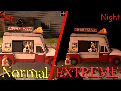 [Extreme Mod] DON'T GET ICE CREAM AT NIGHT BECAU___!!! | Ice Scream Horror Neighborhood