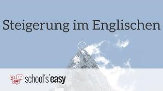 Englische Adjektive steigern