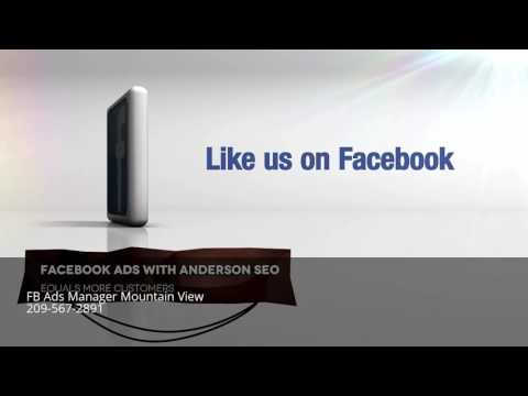 Facebook Ads Manager | FB Advertising Management Mountain View CA