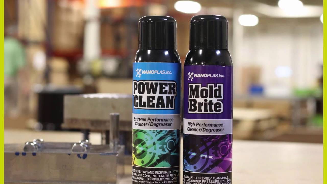 Mold Brite™ Injection Mold Cleaner & Degreaser