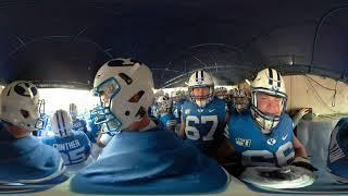 BYU Football - Team Run Out - 360 Video