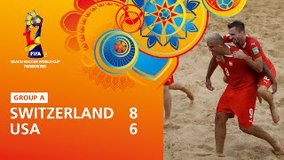 Switzerland v USA [Highlights] - FIFA Beach Soccer World Cup Paraguay 2019™