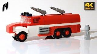Tatra 148 Firetruck (Updated MOC - 4K)