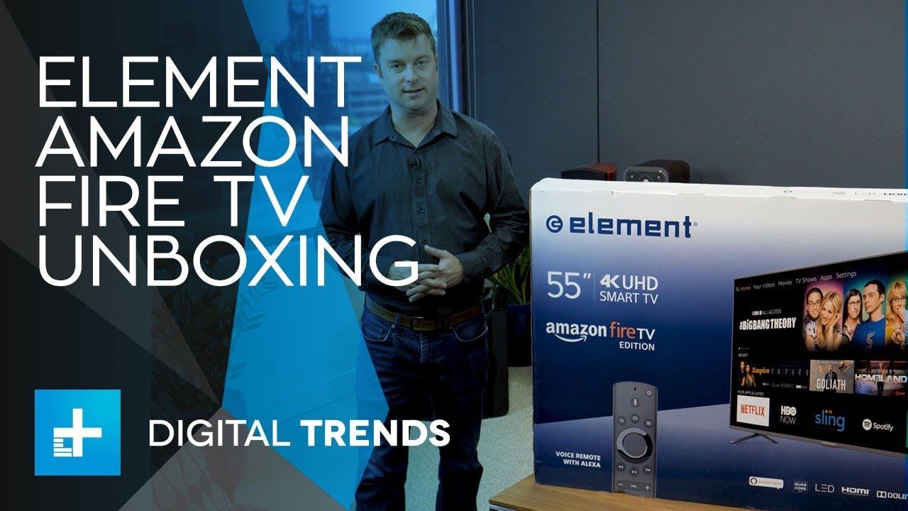 Element Amazon Fire TV Unboxing