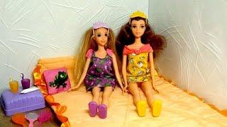 Куклы Бель и Рапунцель - спящие принцессы Mattel. Принцессы Дисней. Обзор