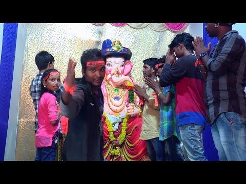 RAHUL SIPLIGUNJGALLI KA GANESH dance video by RJ ABCD