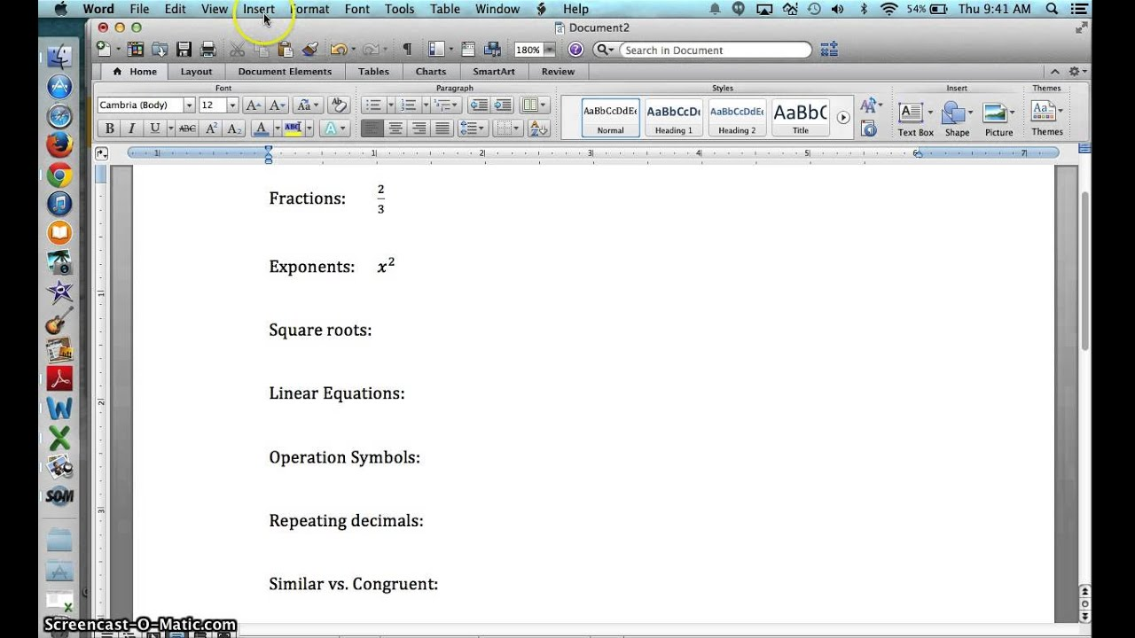 Free equation editor for word