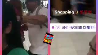 OG Spanky Loco running around the mall in LA looking for 6ix9ine