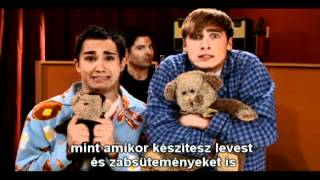 Big Time Rush - The mom song (hungarian/magyar)