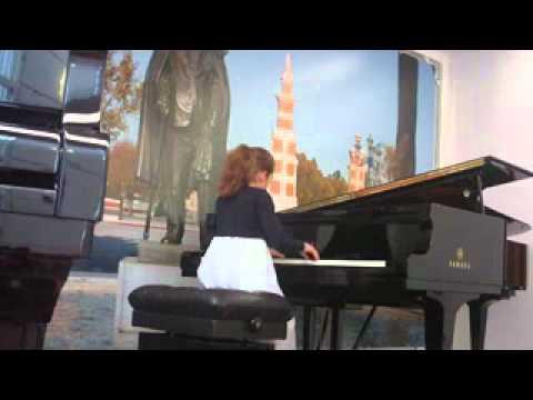 """Concurso de Piano """"Marisa Montiel"""" - Sonata KV 330 Mozart - 1er Mov."""