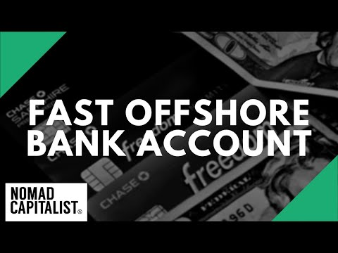 How to Open an Offshore Bank Account in One Day