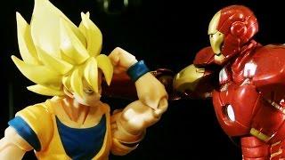 Goku vs. Iron Man - Stop Motion Challenge - Episode 3