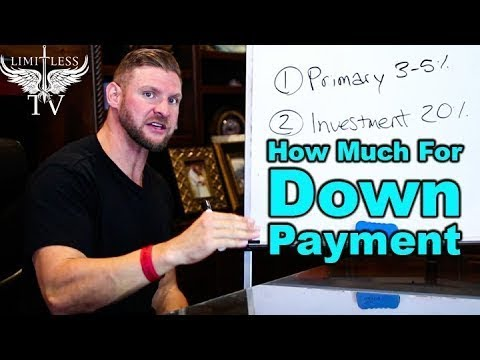 How Much Do I Need For A Down Payment - First Time Home Buye