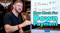 How Much Do I Need For A Down Payment - First Time Home Buyer