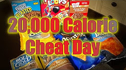 20k Calorie Challenge Cheat Day! Nick Dompierre