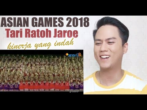 Tari Ratoh Jaroe Dari Indonesia, Untuk Indonesia | Asian Games 2018 | REACTION