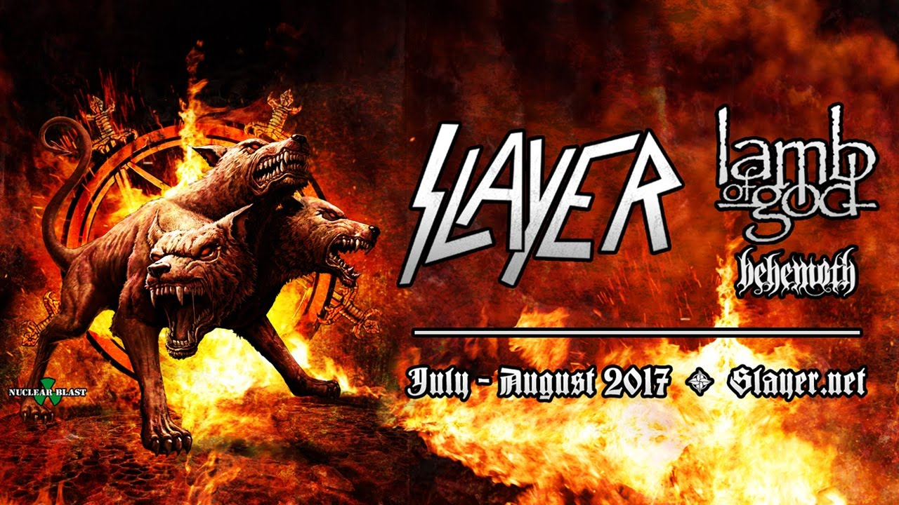 Slayer Lamb Of God Tour Tickertsd