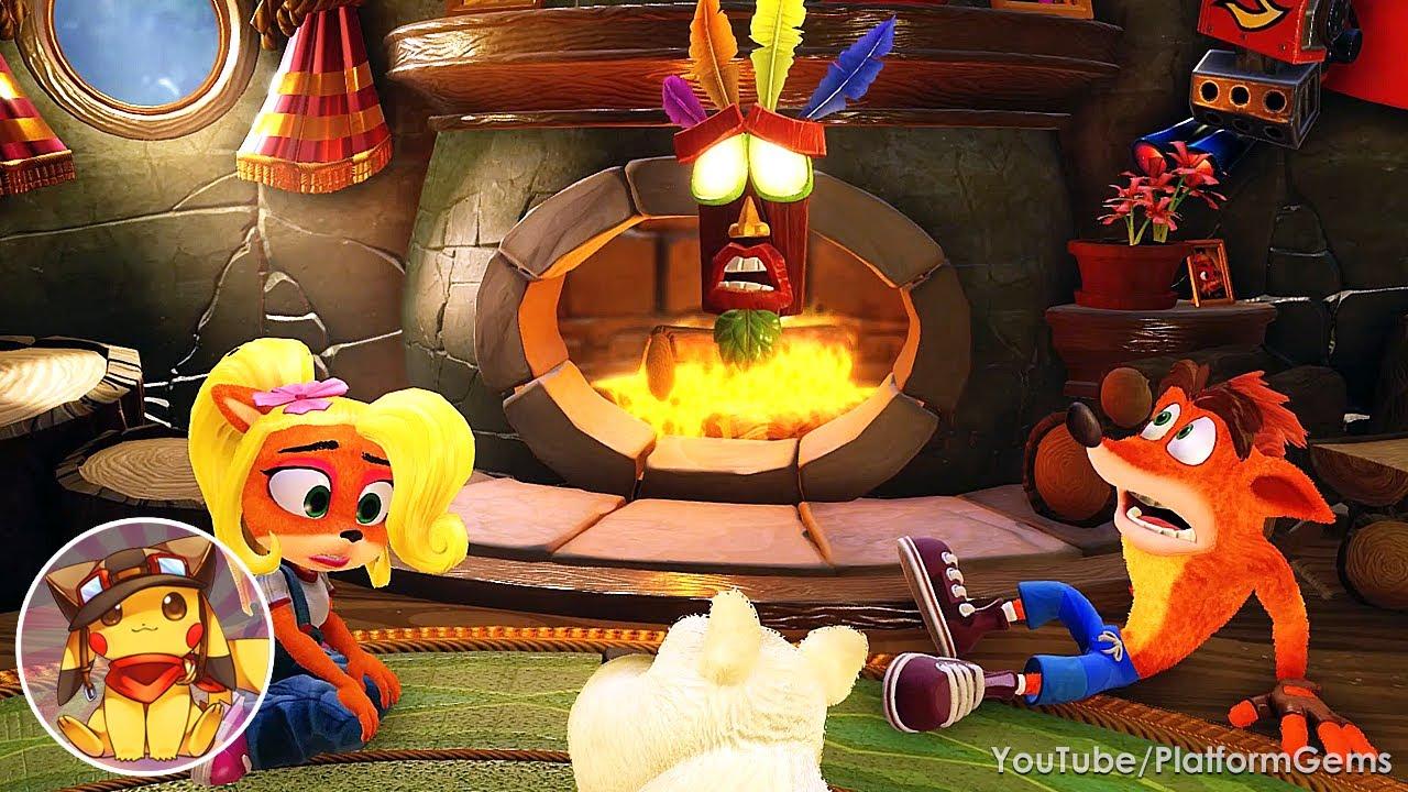 Crash Bandicoot 3: Warped - Full Game Walkthrough 100% (N. Sane Trilogy) [1080p]
