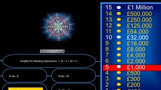 How to Create Who Wants To Be A Millionaire in Visual Basic.Net - Tutorial - 1