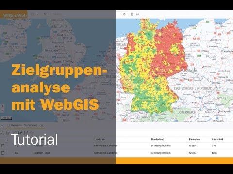 Zielgruppenanalyse mit WebGIS: Tutorial zum Online GIS WIGeoWeb thumbnail