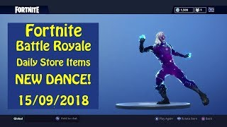 Fortnite Battle Royale Daily Store ItemsNEW DANCE 15/09/201