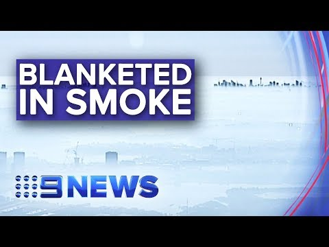 Sydney Air Quality Among Worst In The World As Bushfire Smoke Lingers | Nine News Australia