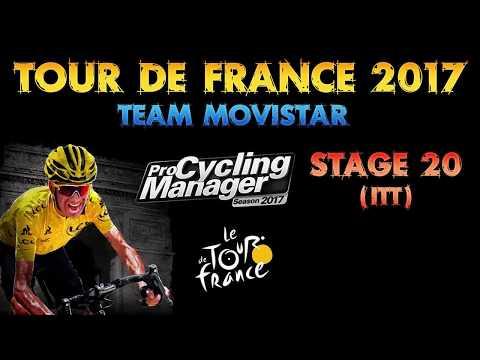 Tour de France 2017, Team Movistar, Stage 20 (ITT)