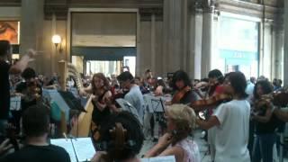 Flash Mob Orchestra 2012 - Galleria Sordi