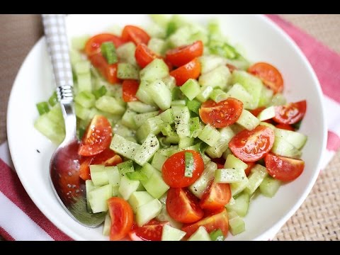 Cucumber Salad Recipe : How to Make Cucumber Salad