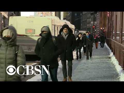 Dangerous polar vortex sweeps Midwestern states