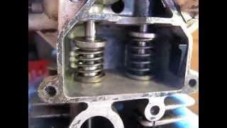 demontage  soupape laterale moteur bernard w 328 ou briggs et stratton .bernard w 328 soupape.