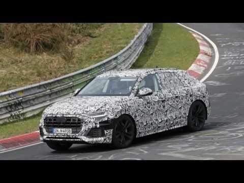 Look This, 2018 Audi Q8 tears up the Nurburgring